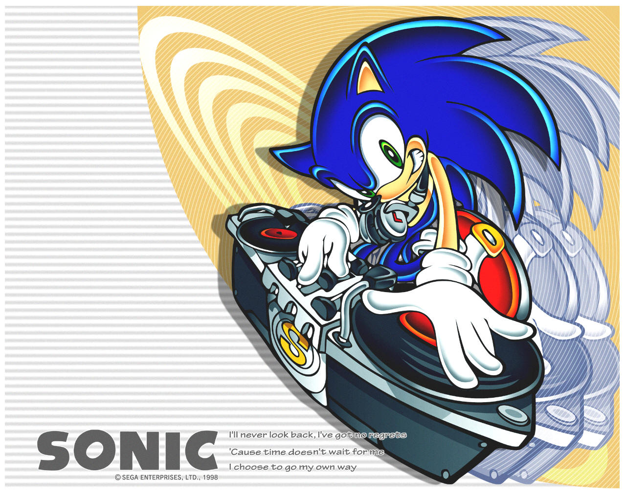 Sonic sempre teve envolvimento com a música
