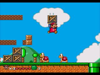 Ah Super Mario, fazendo a alegria até no Mega Drive