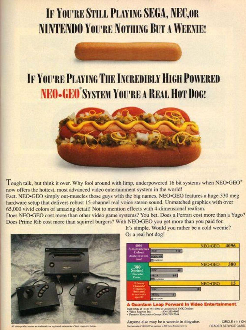 A SNK também tinha cada ideia para o Neo Geo