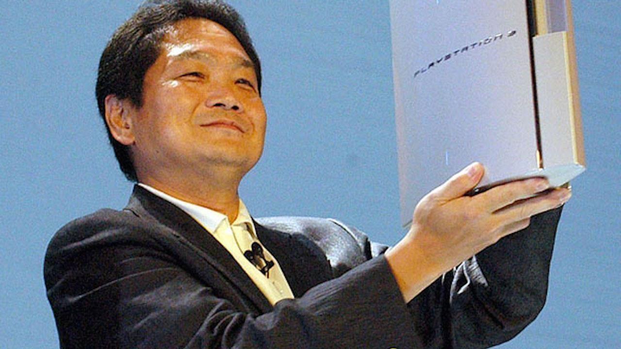 Ken Kutagari com o PS3
