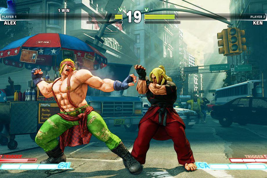 Como eu queria Street Fighter 5 na Caixa X