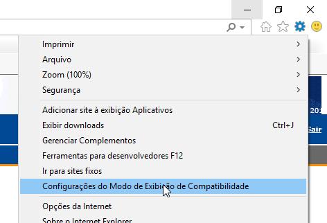Configurações do Modo de Compatibilidade