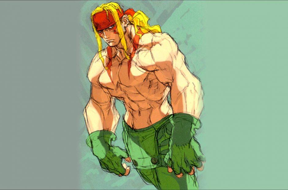 Alex, campeão do Street Fighter 3