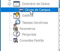 Acessando o Grupo de Campos no Configurador