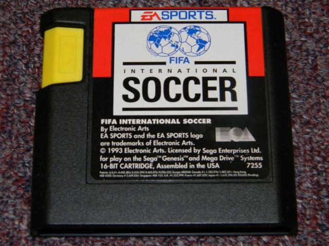 Cartuchos para o Mega Drive nos Estados Unidos, tinham formato diferente