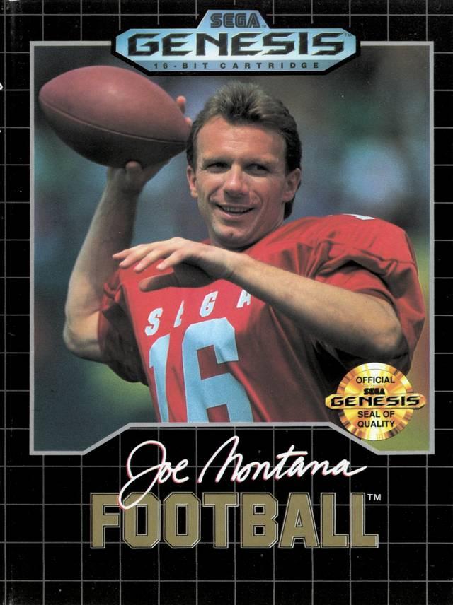 Joe Montana, investida da SEGA nos games esportivos