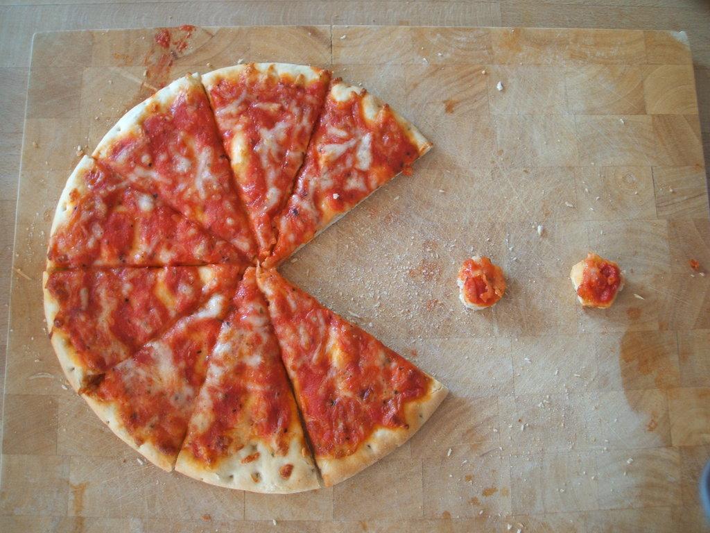 Inspiração vinda de Pizza