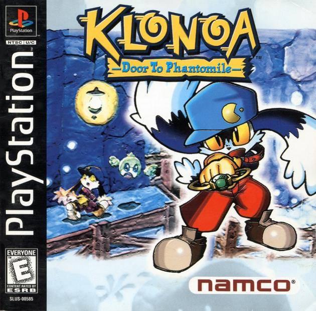 Klonoa, no boné existe o desenho do Pac-Man