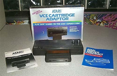 Adaptador para o Atari 5200 rodar os cartuchos do Atari 2600
