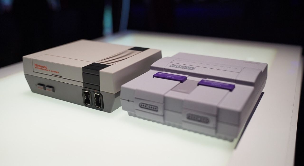 NES Mini e SNES Mini