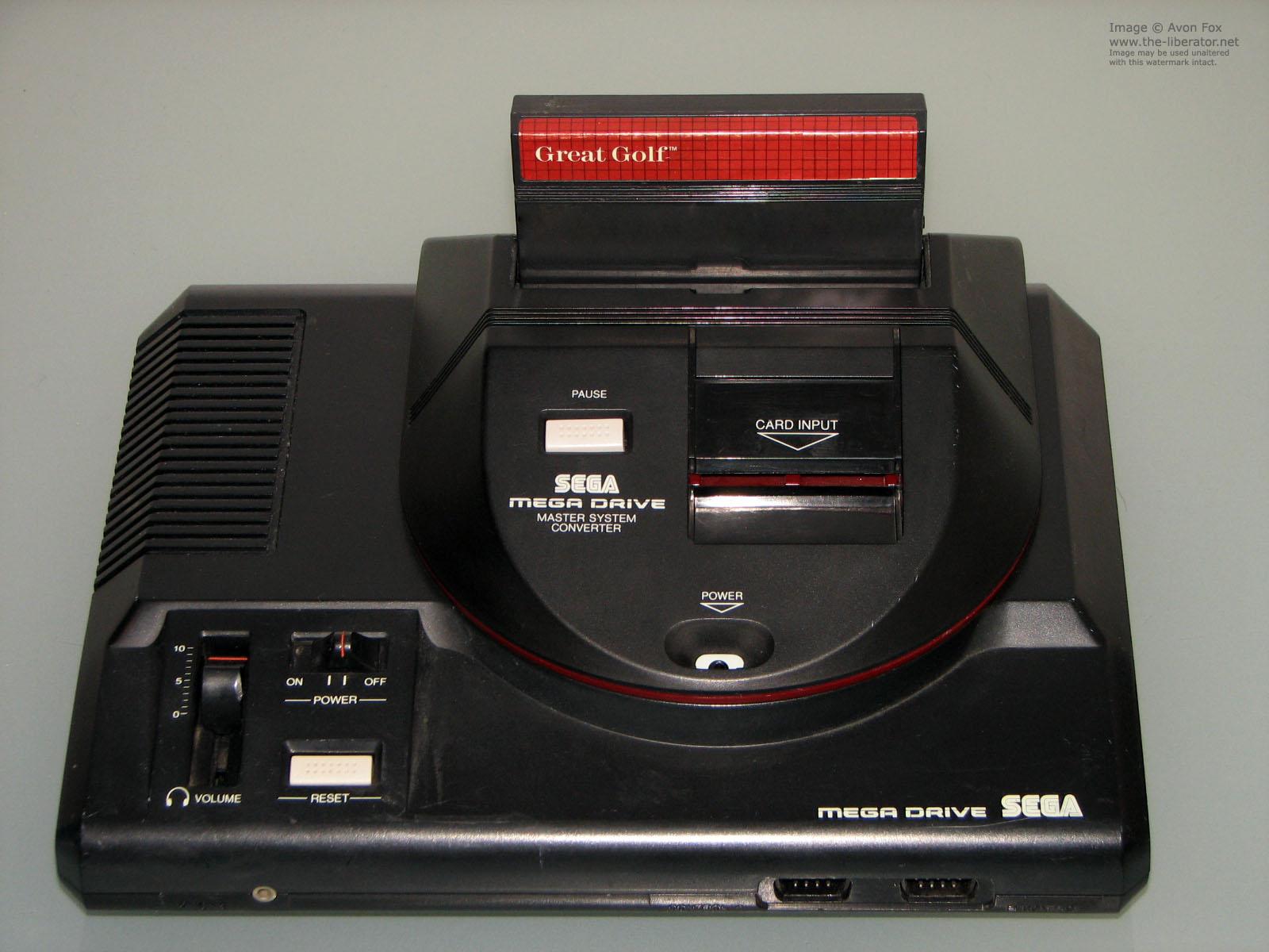 Adaptador para jogar Master System no Mega Drive