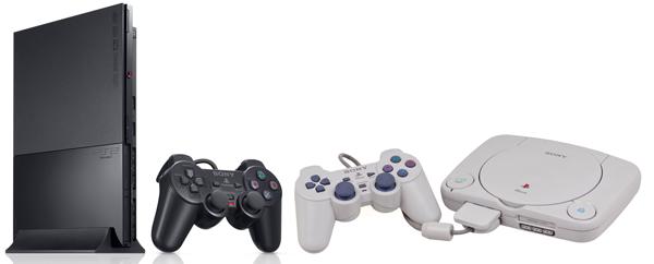 Playstation 2 Slim e Playstation 1 Slim