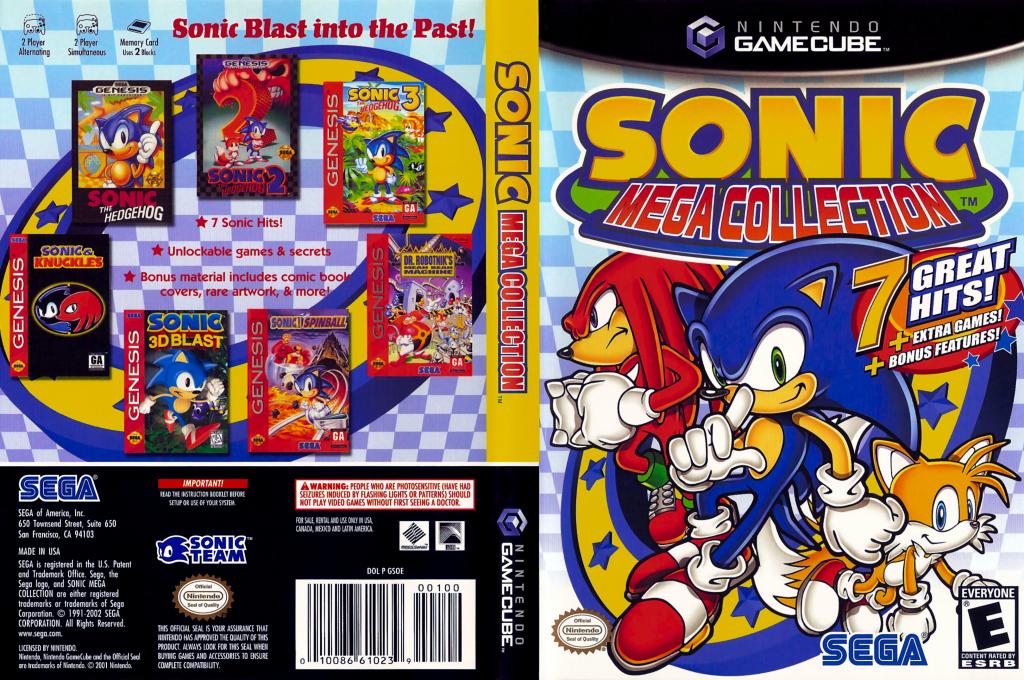 Coletânea de jogos do Sonic